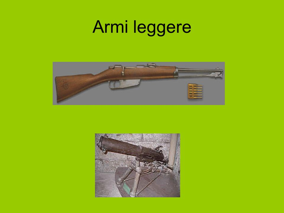 Armi leggere