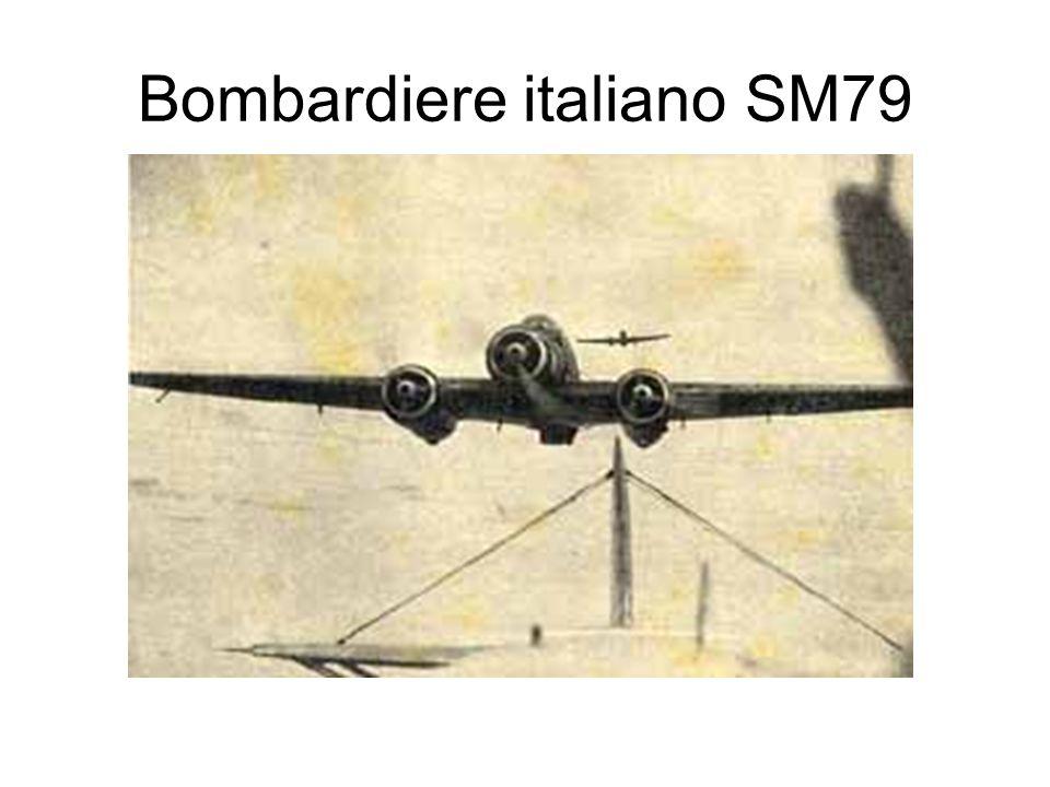 Bombardiere italiano SM79