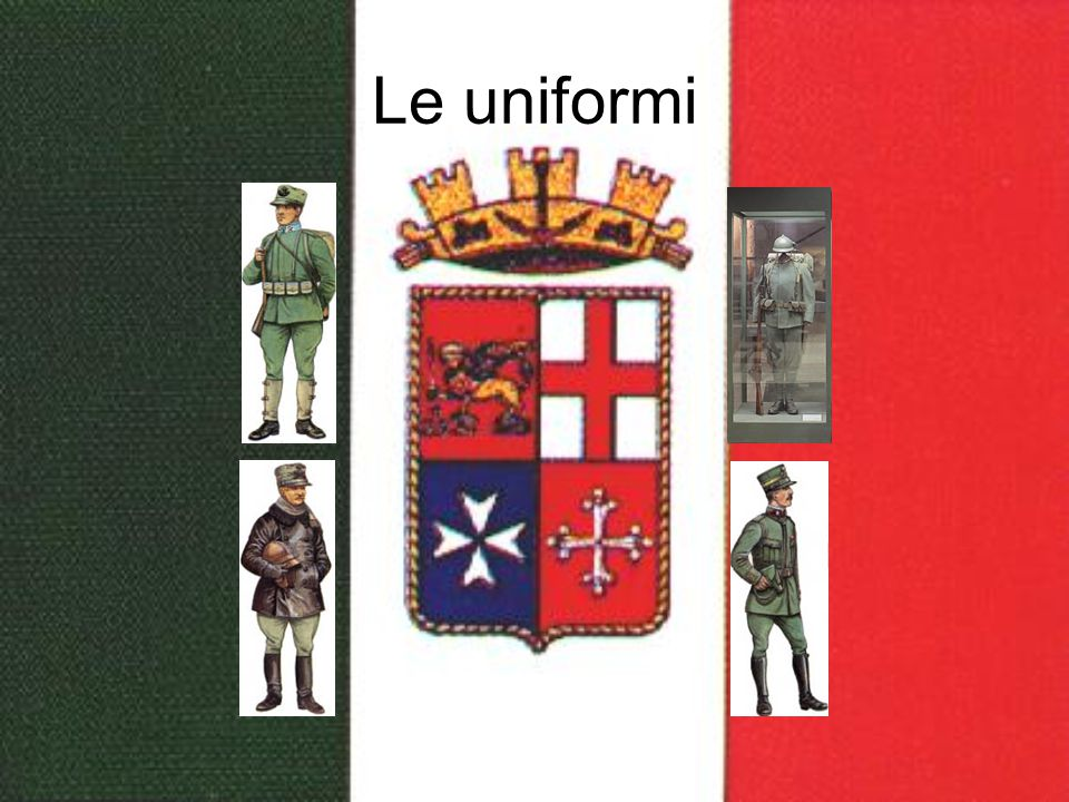 Le uniformi