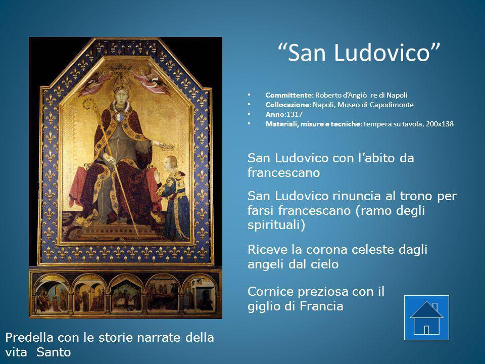 San Ludovico San Ludovico con l'abito da francescano