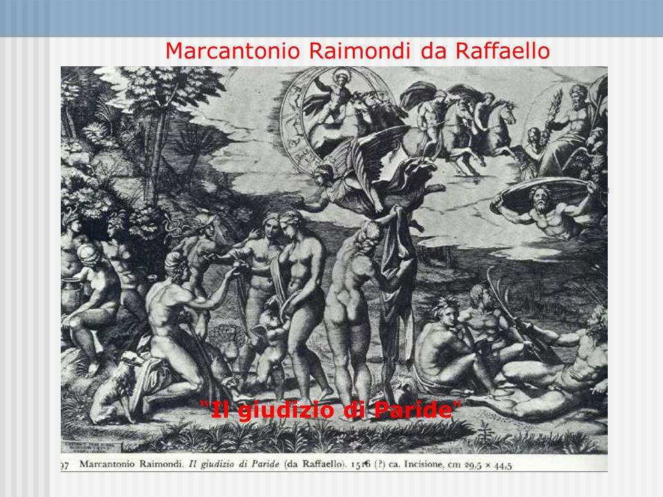Marcantonio Raimondi da Raffaello