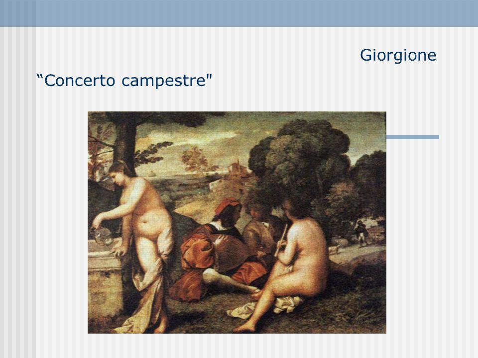 Giorgione Concerto campestre