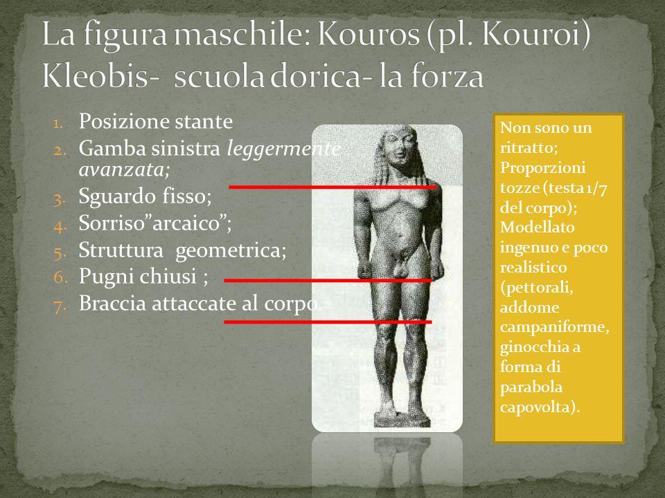 La figura maschile: Kouros (pl