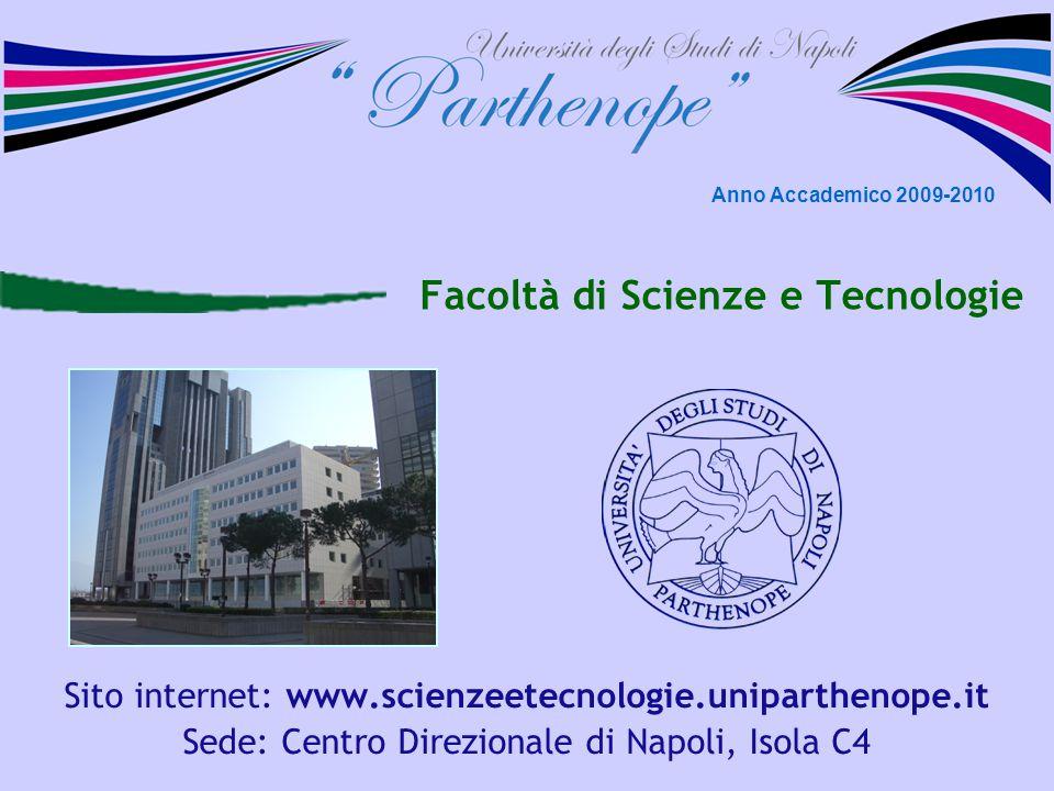 Facoltà di Scienze e Tecnologie