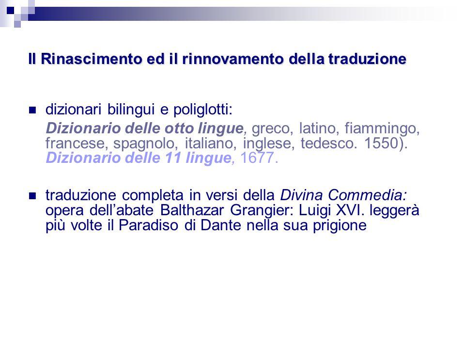 Storia della traduzione ppt scaricare for Traduzione da spagnolo a italiano