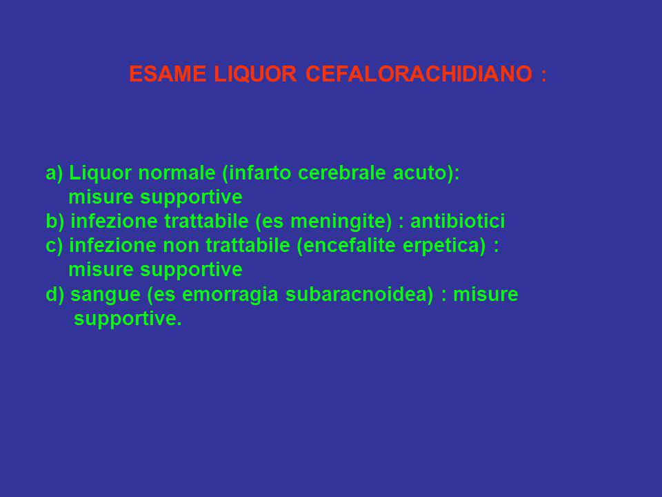 ESAME LIQUOR CEFALORACHIDIANO :