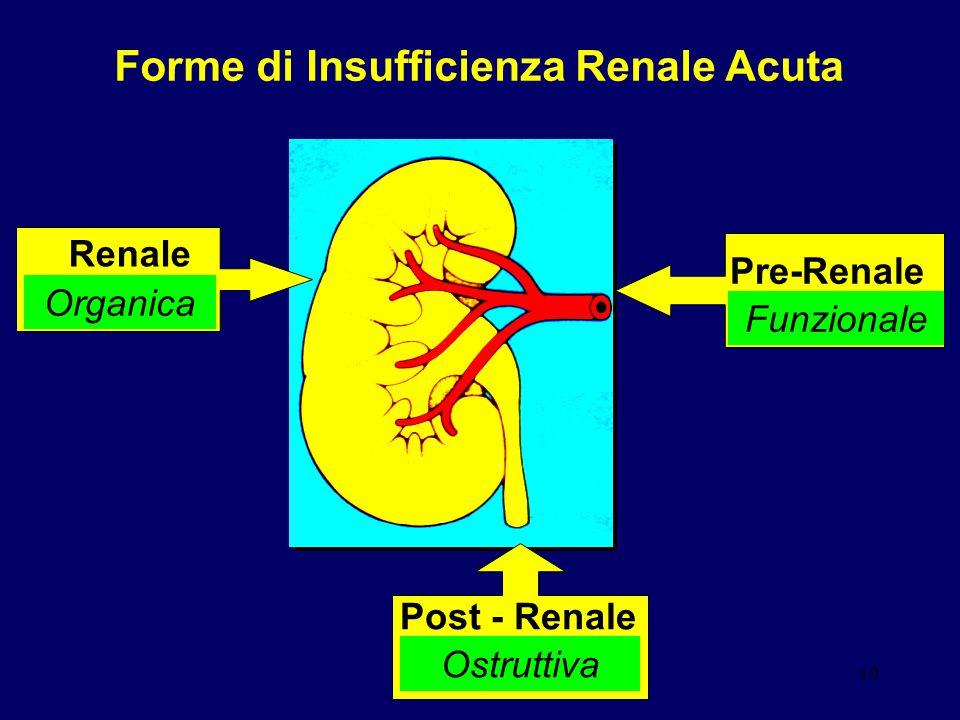 Forme di Insufficienza Renale Acuta