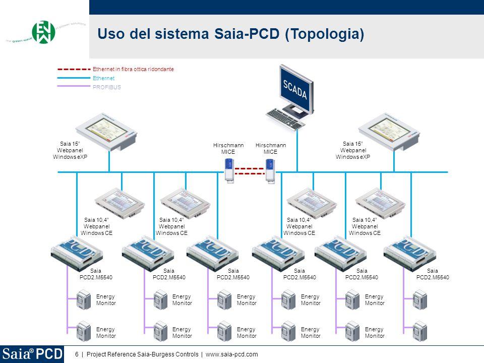 Uso del sistema Saia-PCD (Topologia)