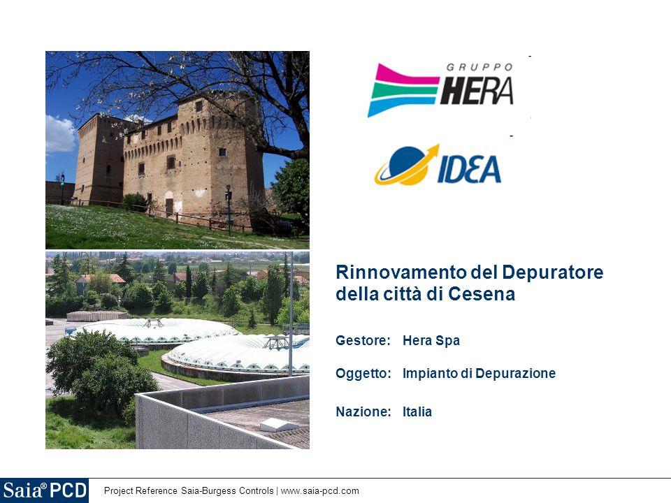 Rinnovamento del Depuratore della città di Cesena