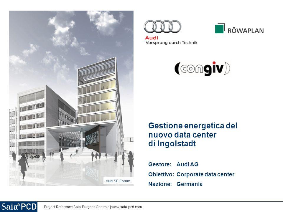 Gestione energetica del nuovo data center di Ingolstadt