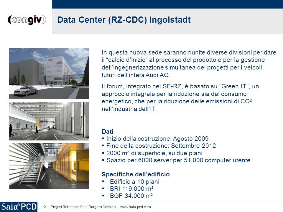 Data Center (RZ-CDC) Ingolstadt