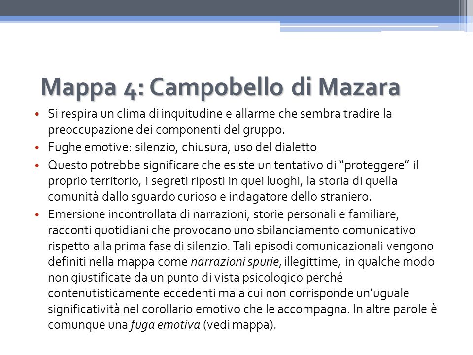 Mappa 4: Campobello di Mazara
