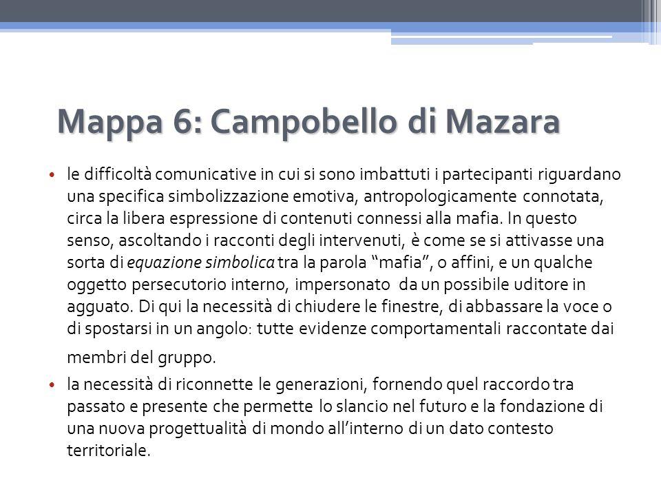 Mappa 6: Campobello di Mazara