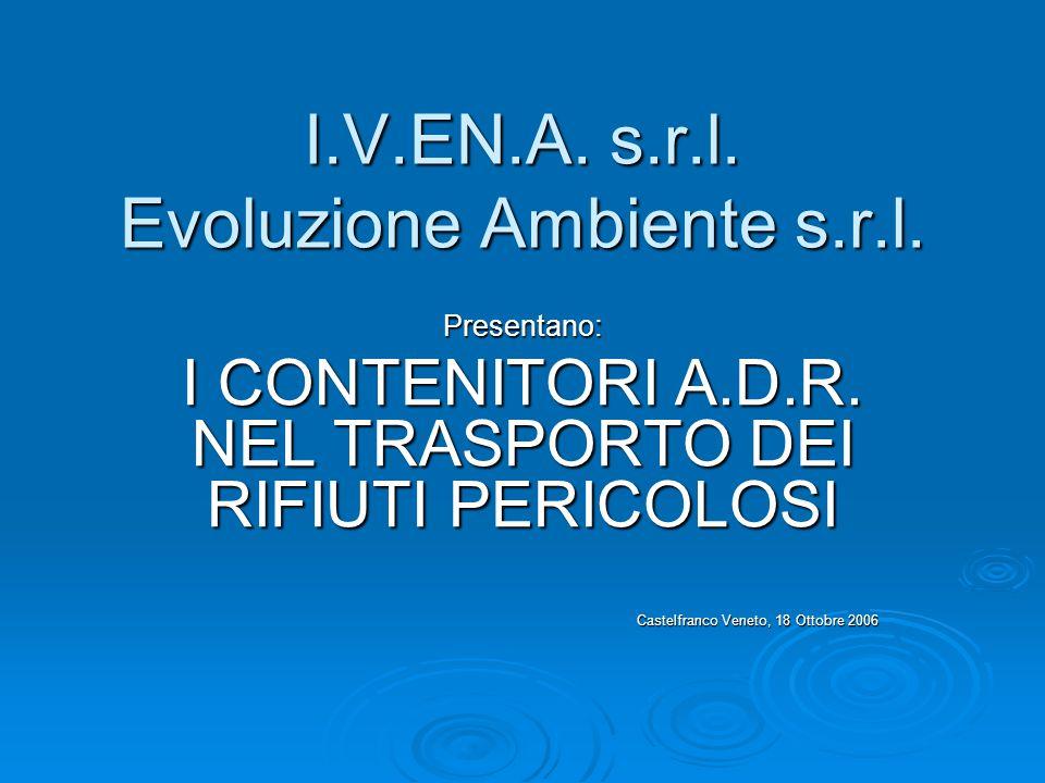 I.V.EN.A. s.r.l. Evoluzione Ambiente s.r.l.