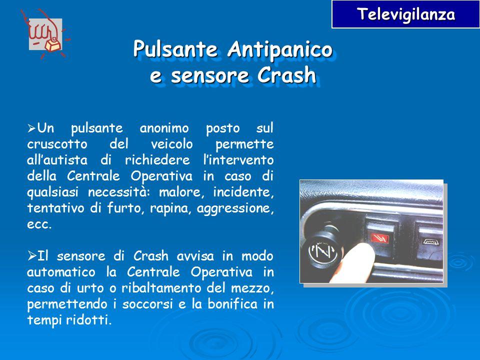 Pulsante Antipanico e sensore Crash