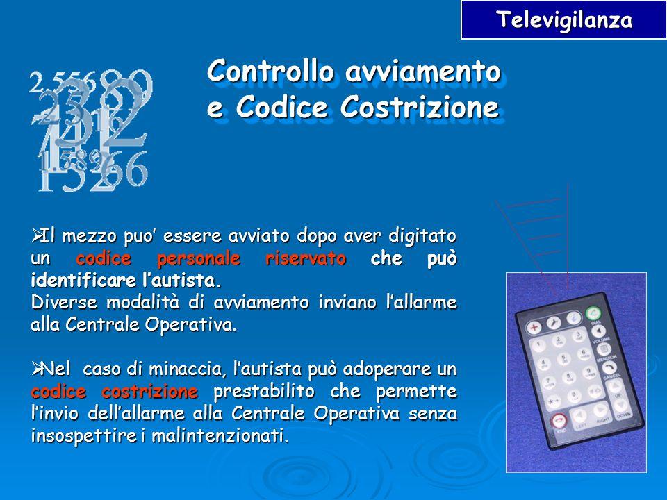 Controllo avviamento e Codice Costrizione