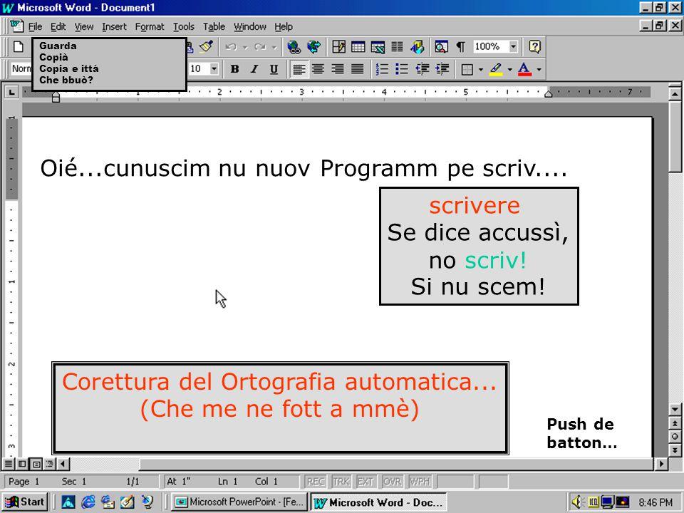 Corettura del Ortografia automatica...