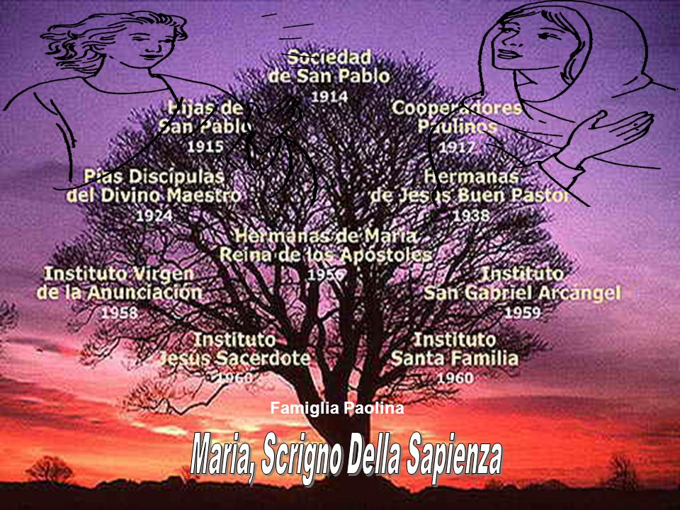 Maria, Scrigno Della Sapienza