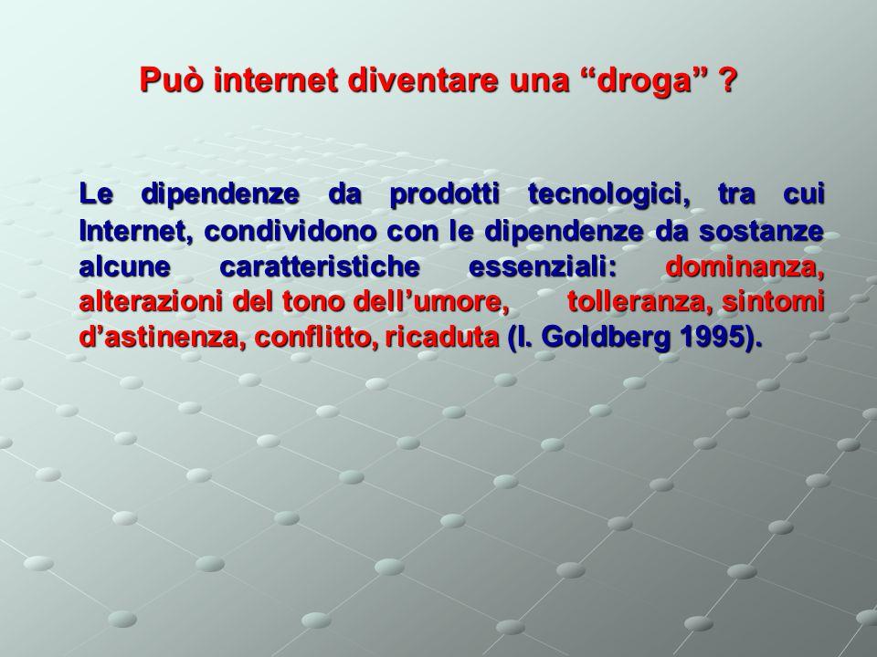 Può internet diventare una droga
