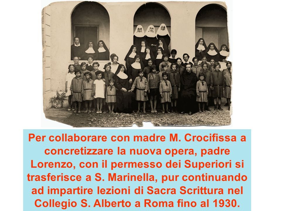 Per collaborare con madre M