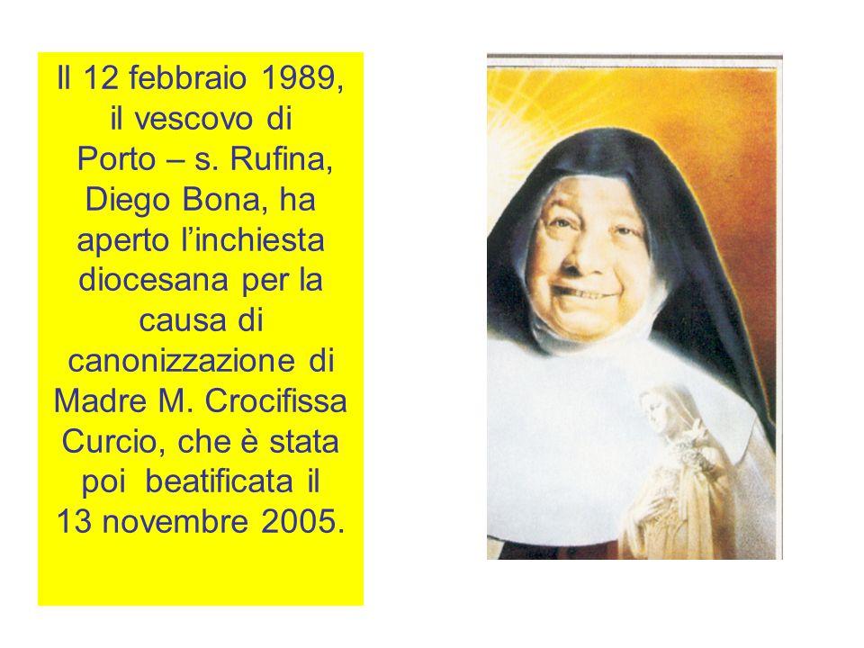 Il 12 febbraio 1989, il vescovo di