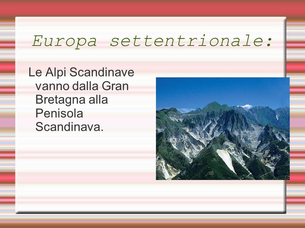 Europa settentrionale: