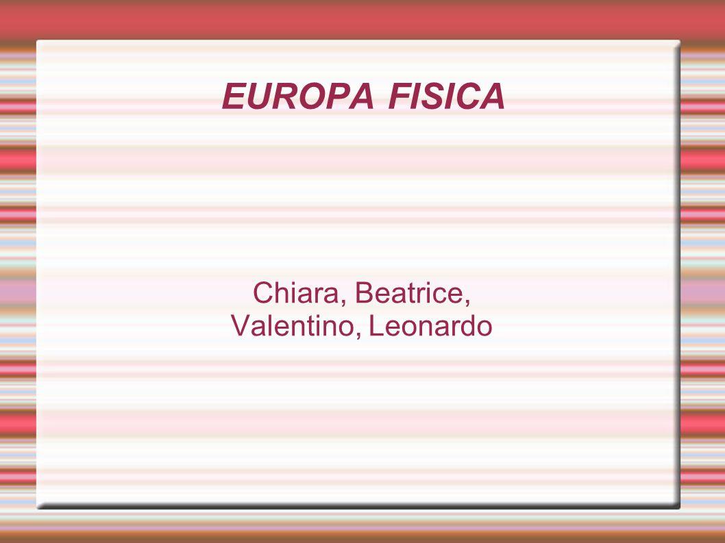 Chiara, Beatrice, Valentino, Leonardo