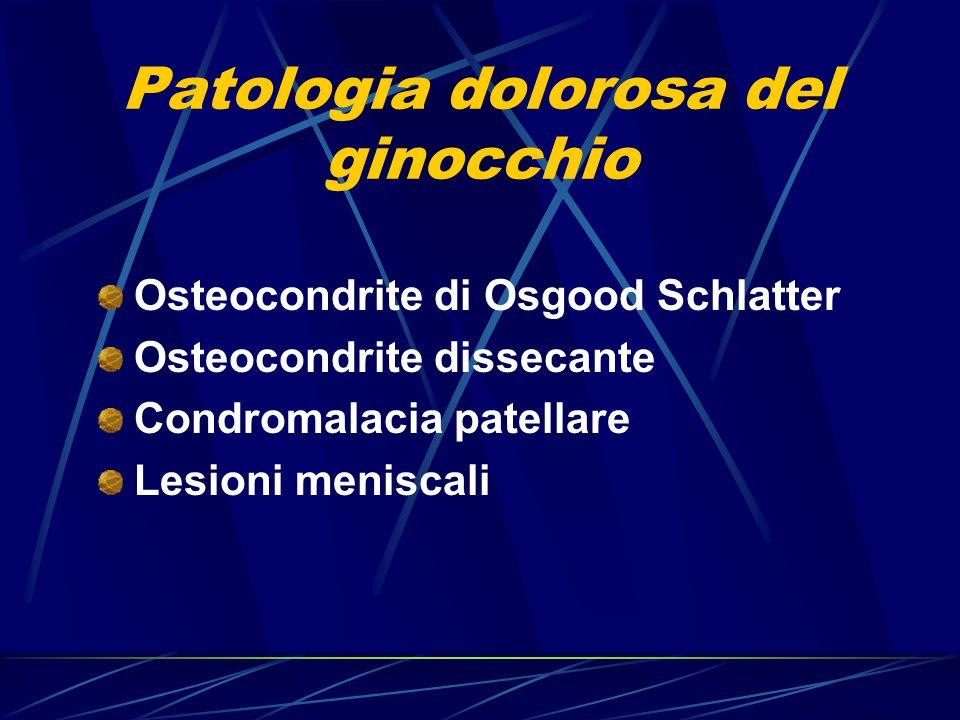 Patologia dolorosa del ginocchio