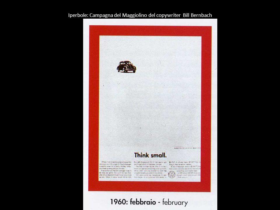 Iperbole: Campagna del Maggiolino del copywriter Bill Bernbach