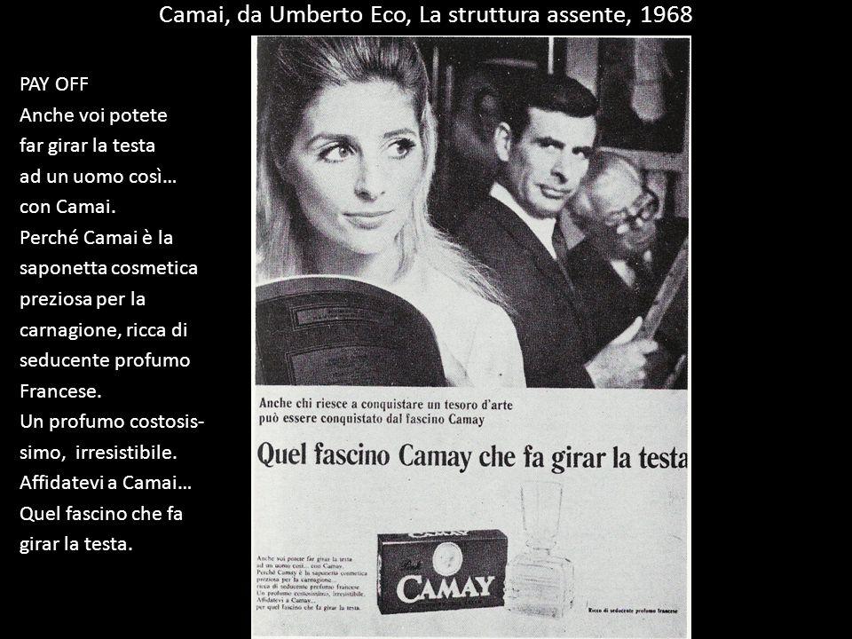 Camai, da Umberto Eco, La struttura assente, 1968