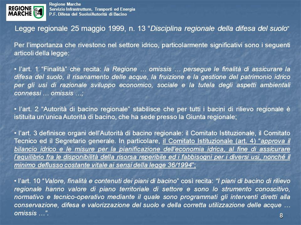 Legge regionale 25 maggio 1999, n