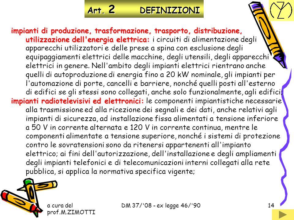Art. 2 DEFINIZIONI