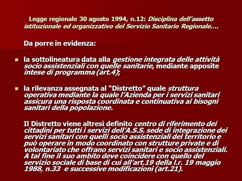 Legge regionale 30 agosto 1994, n