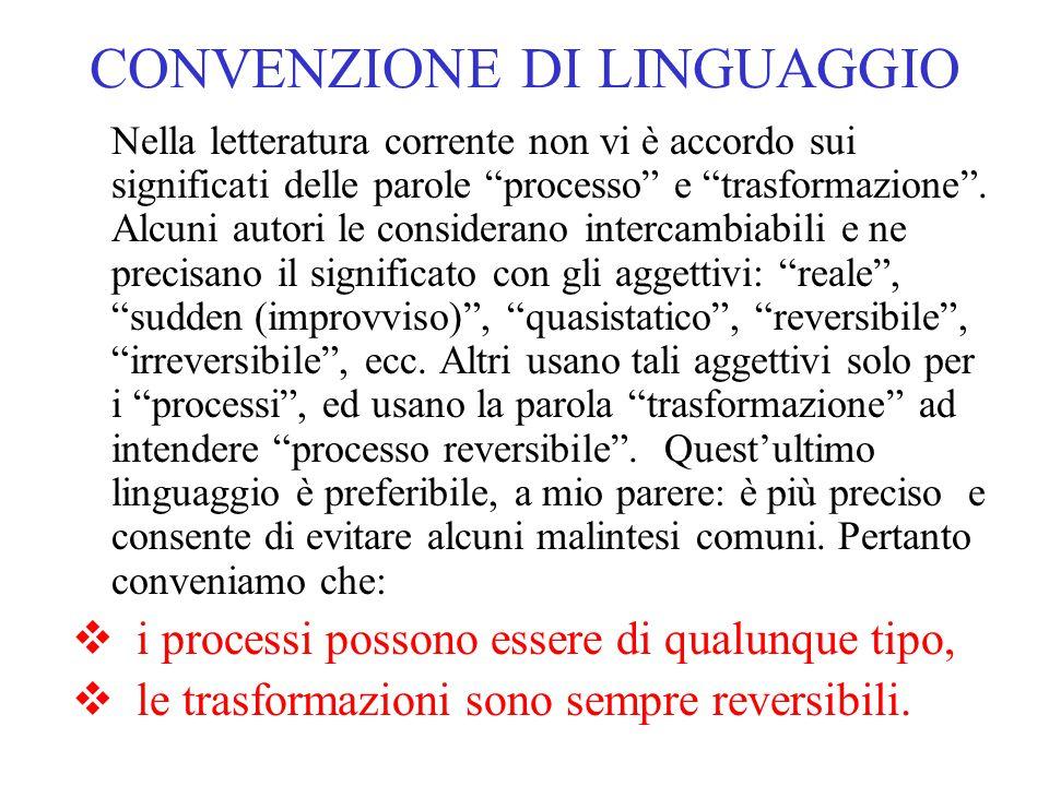 CONVENZIONE DI LINGUAGGIO