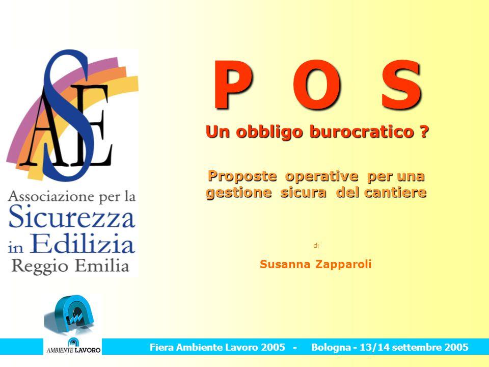P O S Un obbligo burocratico
