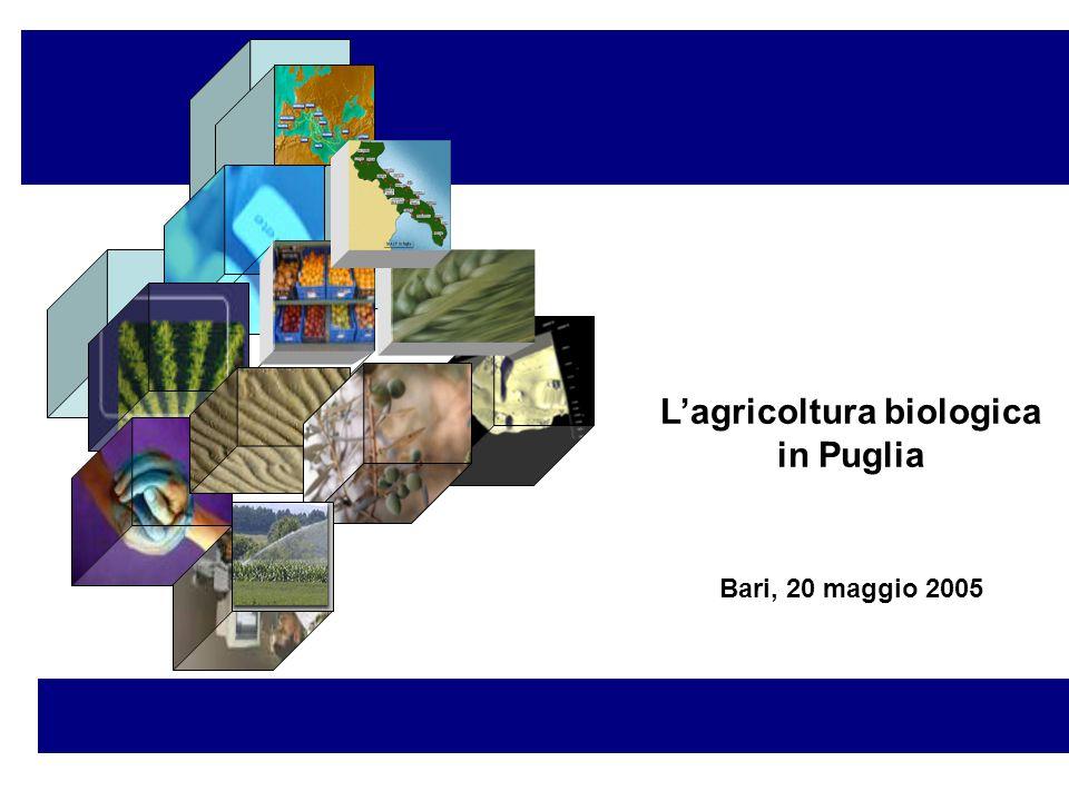 L'agricoltura biologica in Puglia