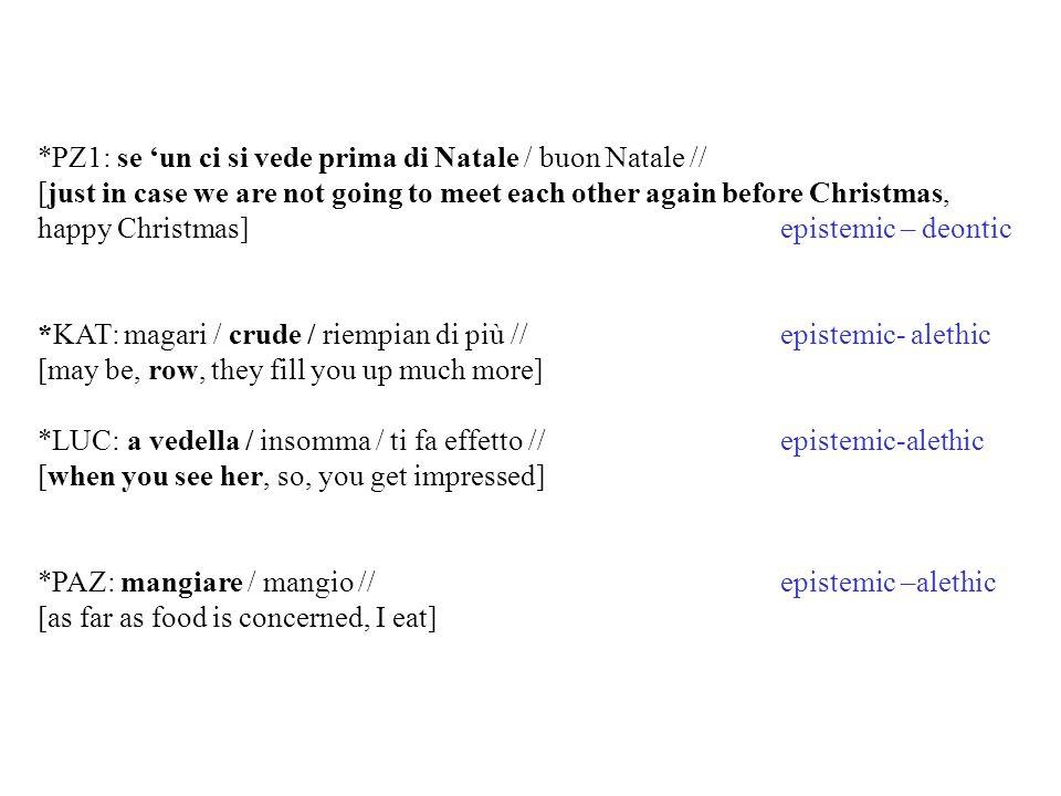*PZ1: se 'un ci si vede prima di Natale / buon Natale //