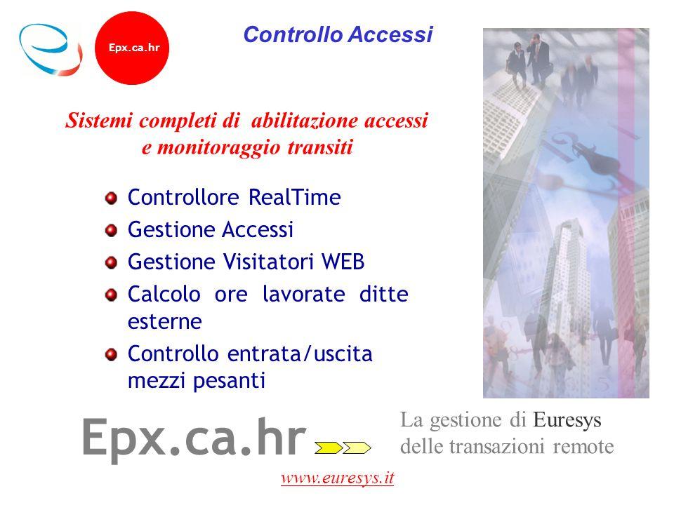 Sistemi completi di abilitazione accessi e monitoraggio transiti