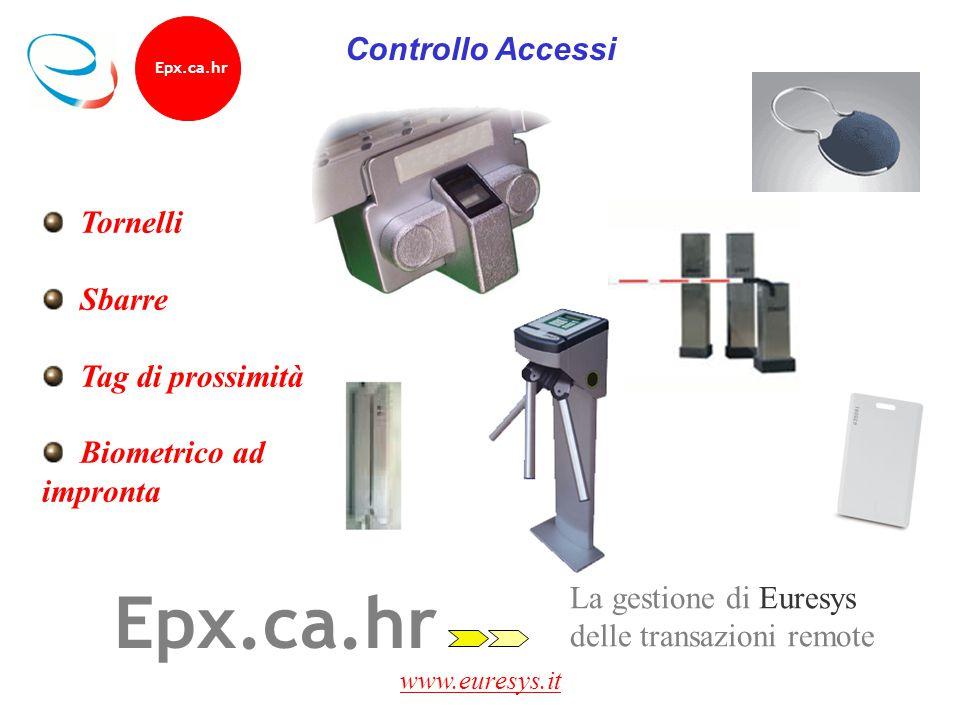 Epx.ca.hr Controllo Accessi Tornelli Sbarre Tag di prossimità