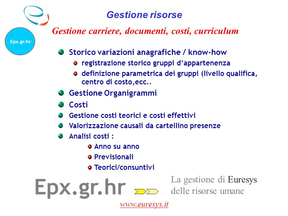Epx.gr.hr Gestione risorse