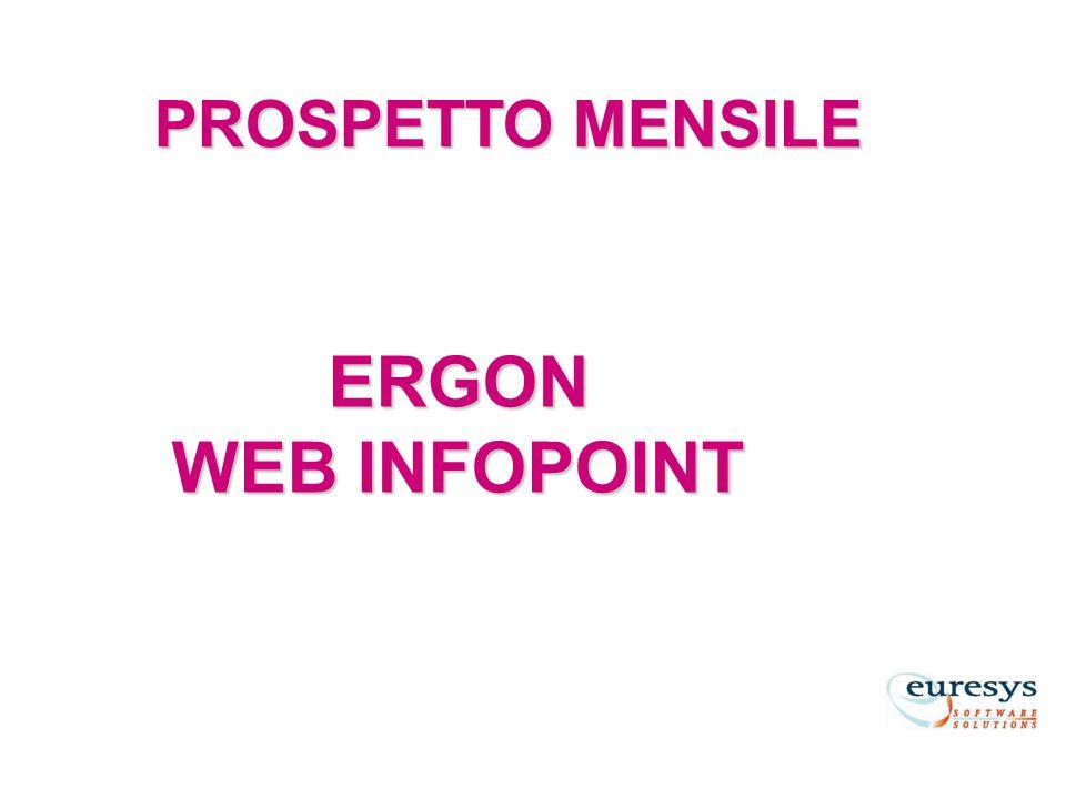 PROSPETTO MENSILE ERGON WEB INFOPOINT