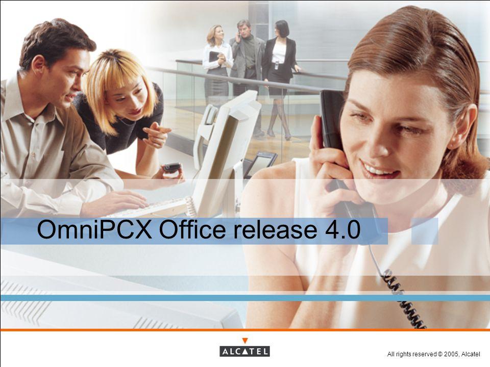 OmniPCX Office release 4.0