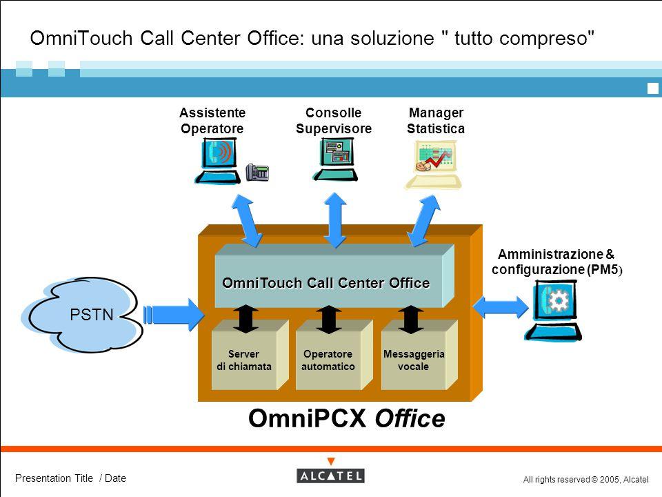 OmniTouch Call Center Office: una soluzione tutto compreso