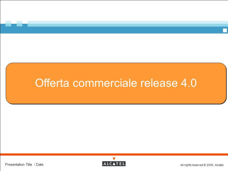 Offerta commerciale release 4.0