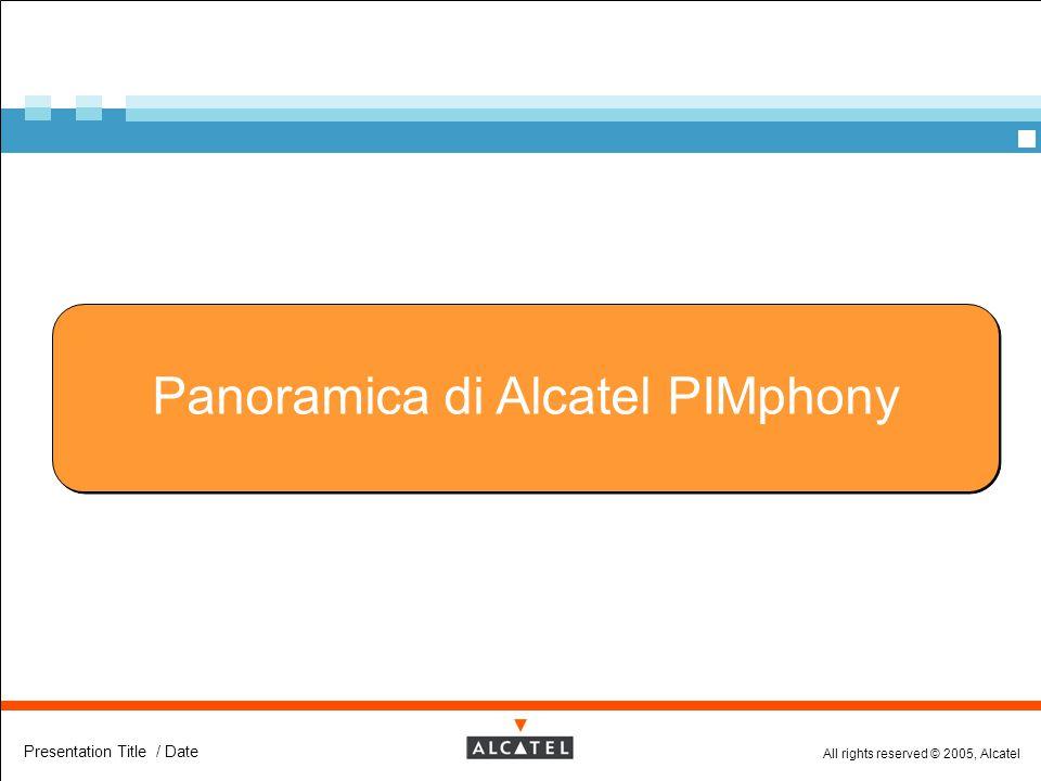 Panoramica di Alcatel PIMphony