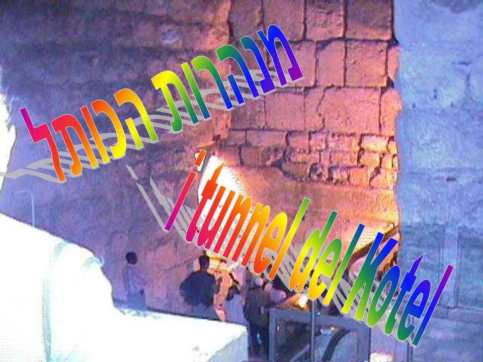 מנהרות הכותל i tunnel del Kotel