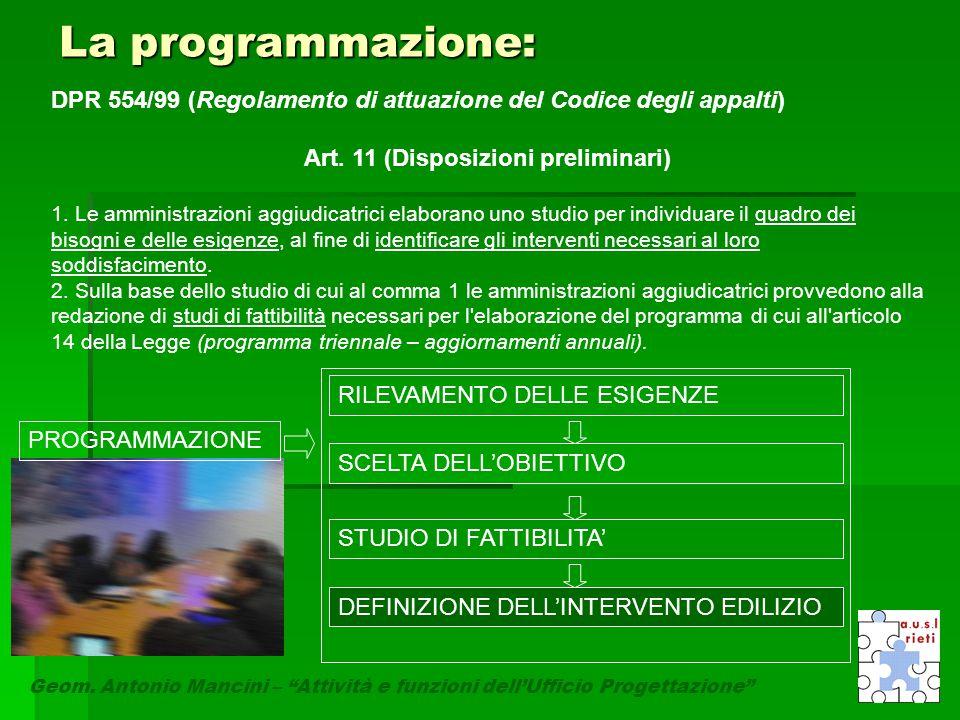 Art. 11 (Disposizioni preliminari)