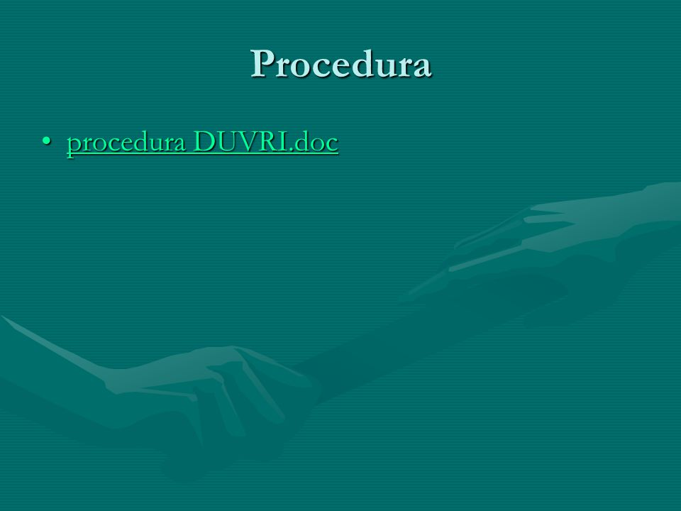 Procedura procedura DUVRI.doc