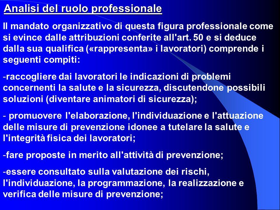 fare proposte in merito all attività di prevenzione;