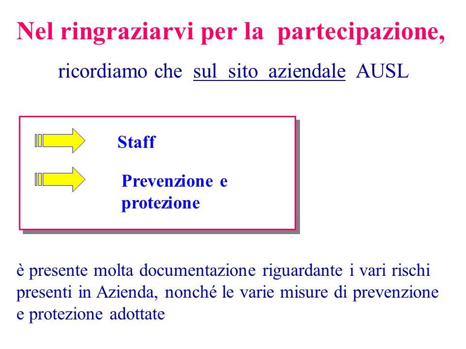 ricordiamo che sul sito aziendale AUSL